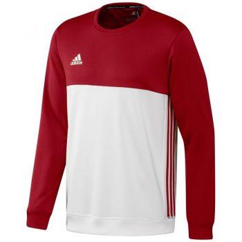Comprar Adidas T16 Crew Sweat hombres rojo OFERTAS DE VENTA para 27.80